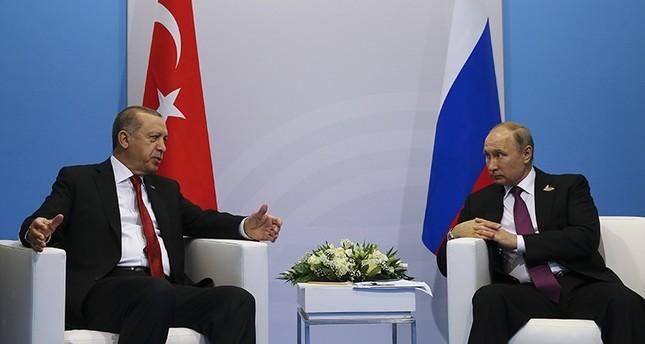 Putin to travel to Ankara next week for talks with Erdoğan