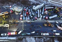 Huge pile-up on freeway kills 17, injures 37 in China