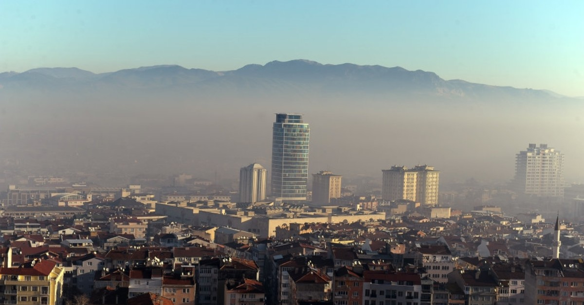 Air pollution hangs like fog over Bursa, one of the biggest cities in Turkey.