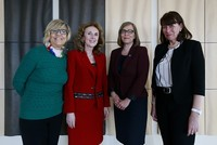 Four female ambassadors based in Ankara met this week to talk about women's issues ahead of International Women's Day on March 8.  Ambassadors of Portugal, Estonia and Slovakia respectively Paula...