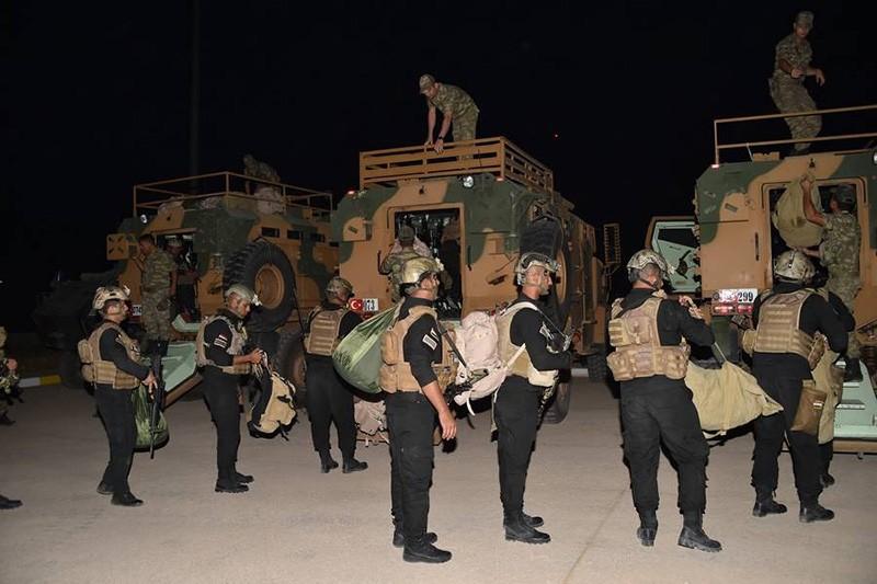 Turkish, Iraqi armies start joint maneuvers at the border amid KRG tension