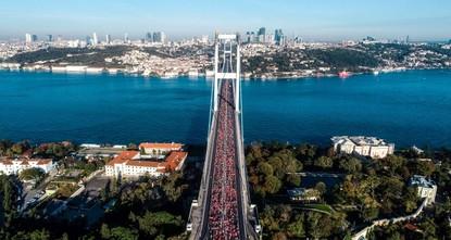 Kenyan, Ethiopian athletes win Istanbul Marathon