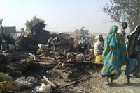 Nigeria mistakenly bombs refugee camp, killing at least 76 and injuring more than 100