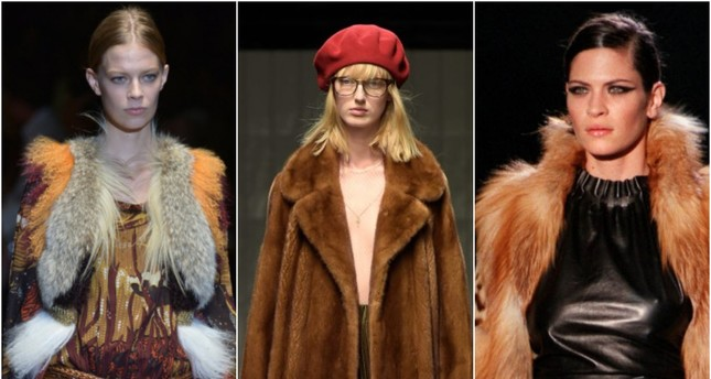 Gucci said it will go fur-free starting with its Spring 2018 Collection. (AFP Photos)