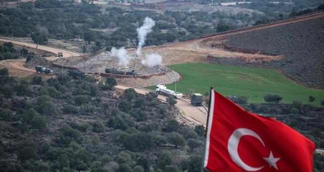 أحد مواقع الجيش التركي في مدينة هطاي (من الأرشيف)