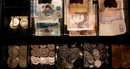 Pound falls from 2-month highs on Brexit worry