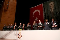 Turkey's sports minister late Saturday criticized a top football team's decision not to disown two former players publicly known to have ties with a terror group.  Galatasaray management board...