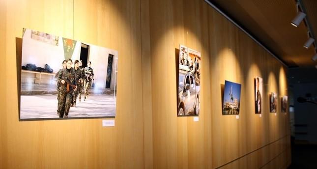 معرض صور فوتوغرافية لـ بي كا كا الإرهابية في البرلمان الأوروبي