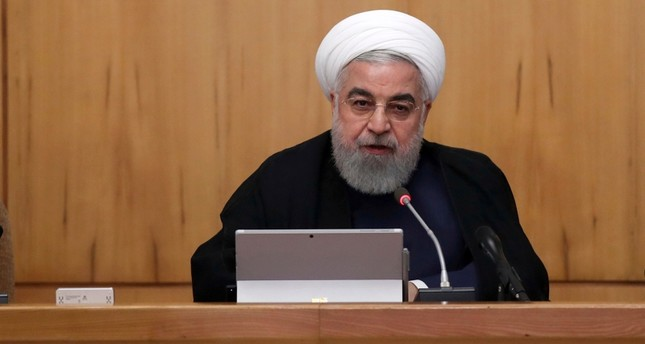 Iranian President Hassan Rouhani speaks in a cabinet meeting in Tehran, Iran, Wednesday, Sept. 18, 2019. AP Photo