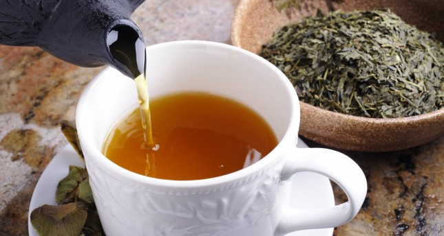 A compound found in green tea is said to reduce dementia symptoms in mice.