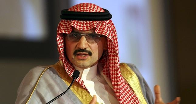 Saudi Prince Alwaleed bin Talal (Reuters Photo)