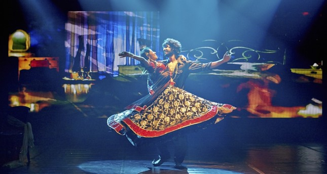 Indian dance group to close İş Sanat's art season