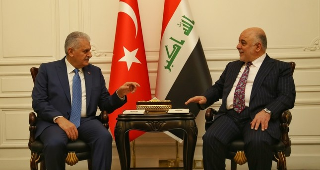 Yıldırım gratuliert irakischen Amtskollegen Abadi zur Befreiung von Mosul