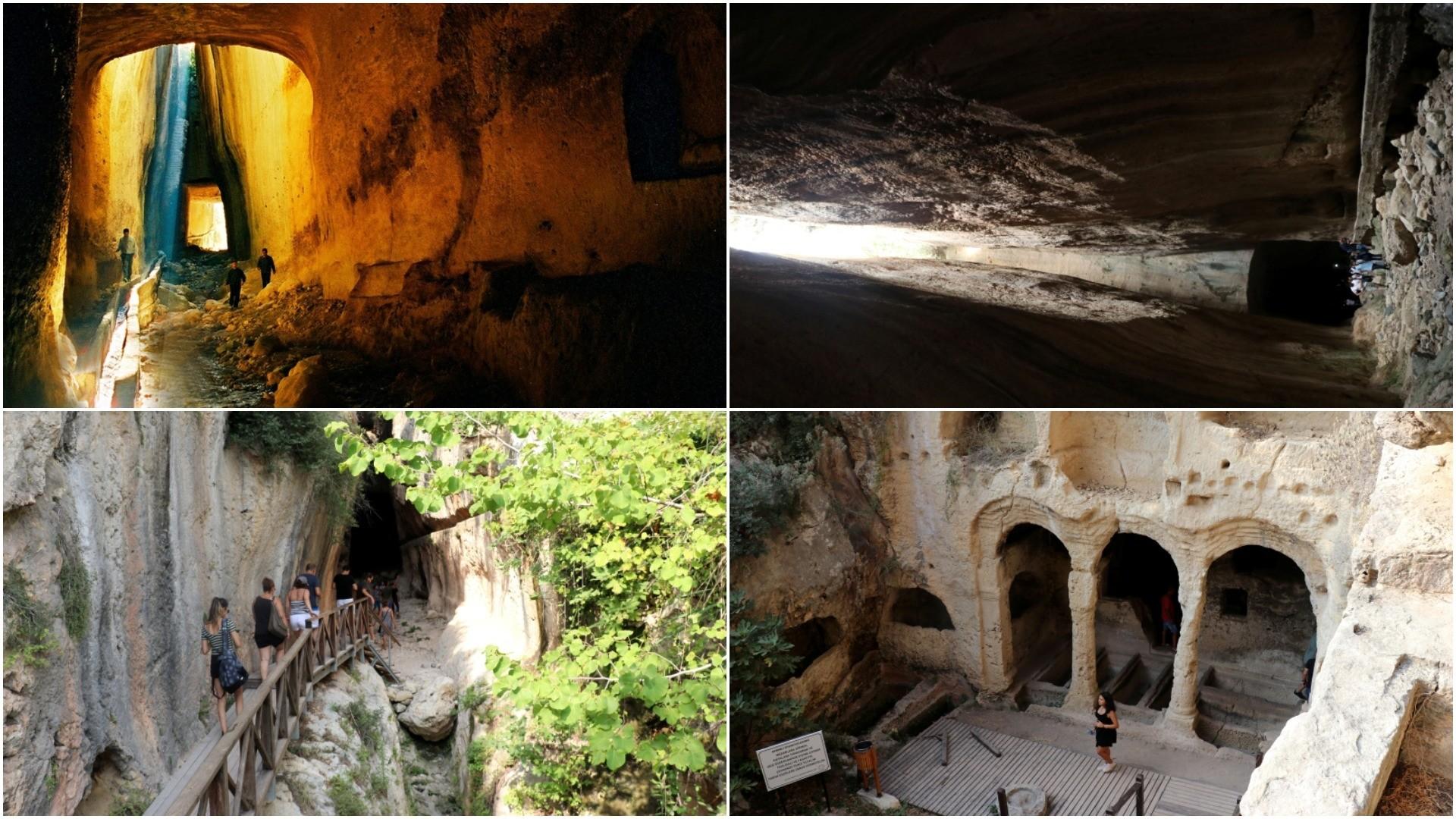 The Vespasinaus Titus tunnel. (AA/FILE Photos)
