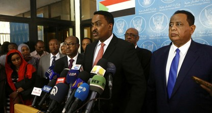 pAmid an ongoing standoff over a multibillion-dollar dam project on the Nile river, Sudan said it was facing a security threat from its border with neighboring Egypt and Eritrea./p  pSudan's...