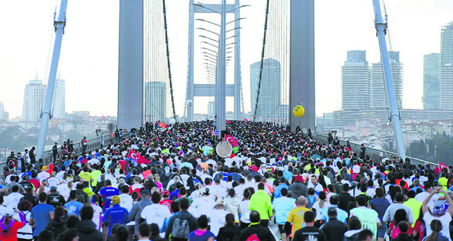 39th Vodafone Istanbul Marathon kicks off