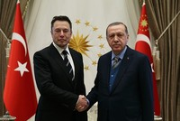 Erdoğan meets Tesla's Musk amid Turkey's domestic car production bid