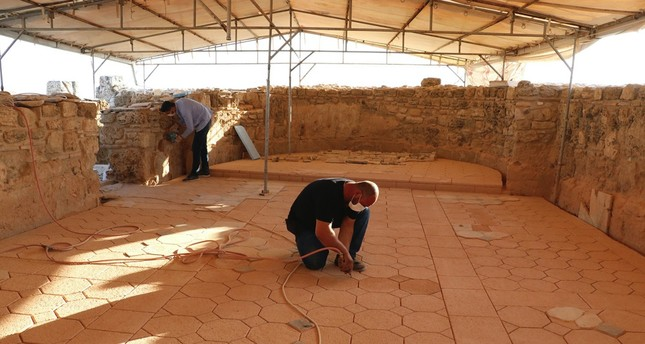 Excavation works continue at the Peristyle House's Oratory and North (Sacred) Agora parts this year.
