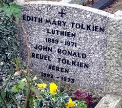 |Grab von J.R.R. Tolkien und seiner Frau