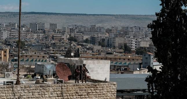 منظر عام لمدينة عفرين (من الأرشيف)