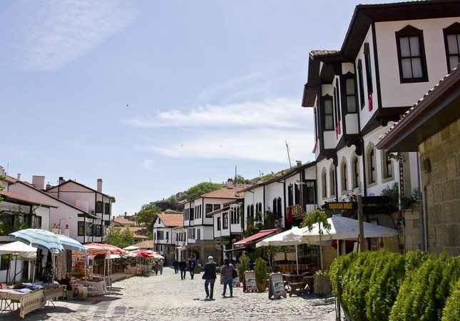 Beypazarı's city center still preserves the spirit of the Ottoman era with its unique architecture.