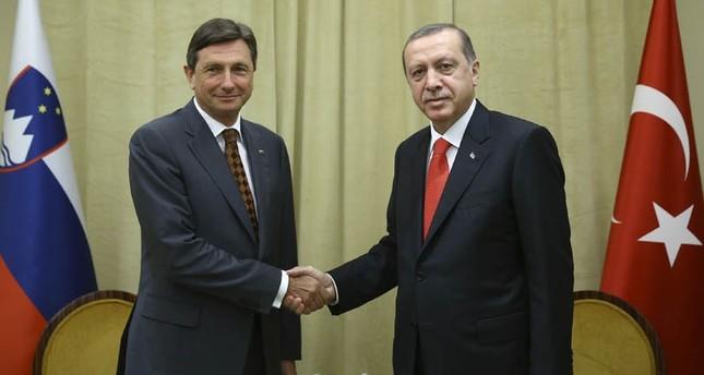 أردوغان يلتقي نظيره السلوفيني ورئيس وزراء اليابان في نيويورك