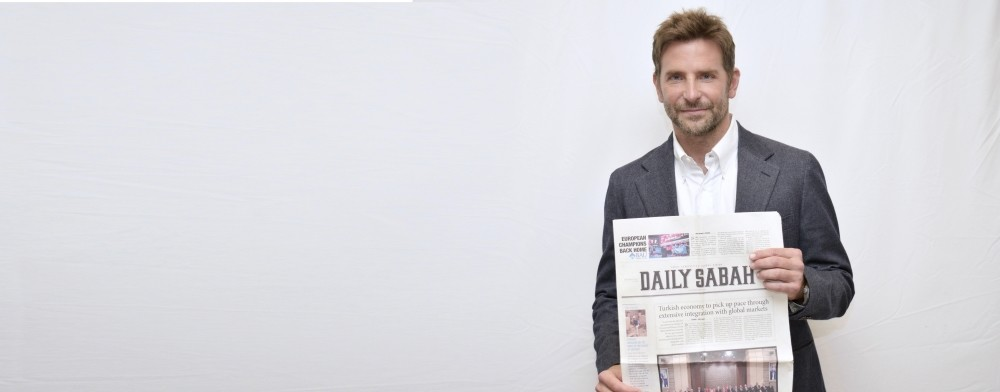 Bradley Cooper spoke to Daily Sabah about his latest movie u201cA Star is Born.u201d