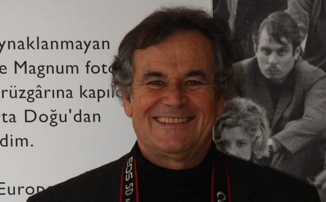 Photographer Bruno Barbey