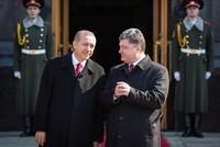 Эрдоган и Порошенко обсудили свободную торговлю