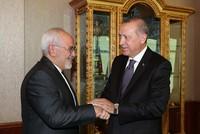 Erdoğan hosts Iranian FM Zarif in Ankara for talks on Syria