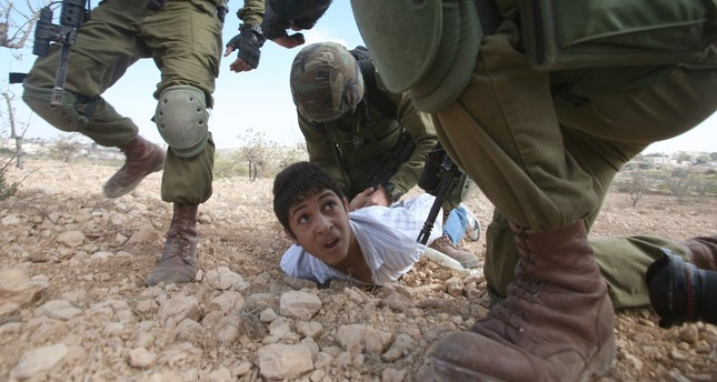 The Israeli army's treatment of Palestinian children has been widely criticized by the international community.