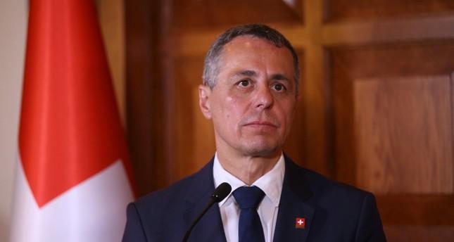 وزير الخارجية السويسري إجناسيو كاسيس