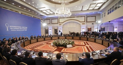 The talks in Kazakhstan's capital Astana have ended with an understanding between Russia, Iran and Turkey to establish a trilateral mechanism to monitor the fragile cease-fire in Syria agreed to in...