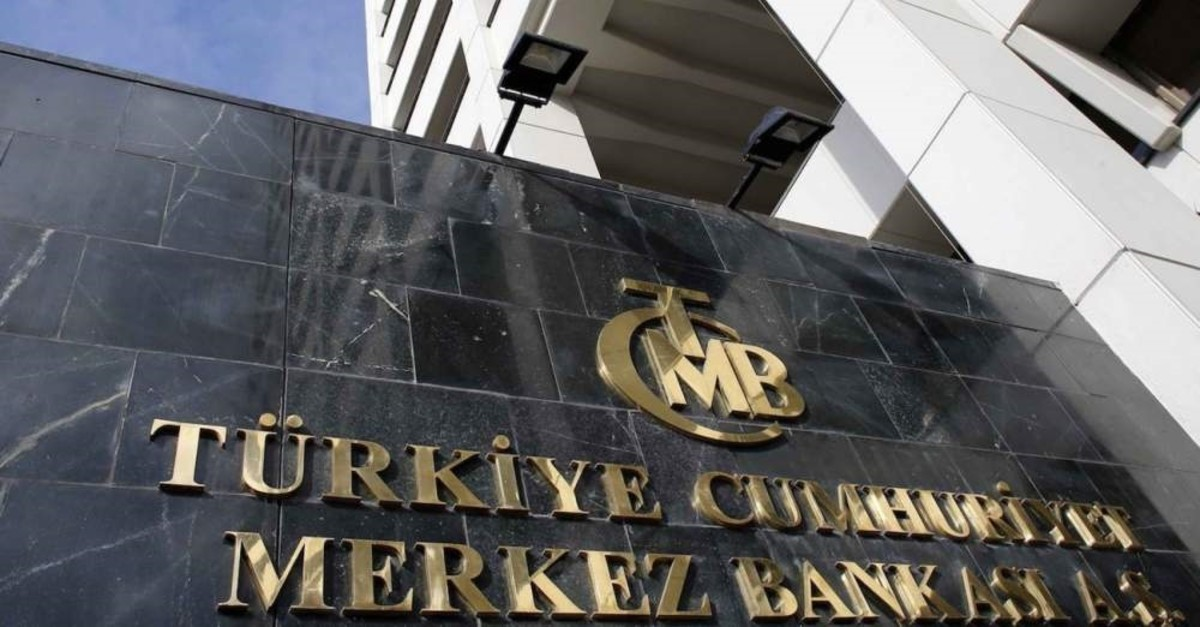 The headquarters of the Central Bank of the Republic of Turkey is seen in Ankara.