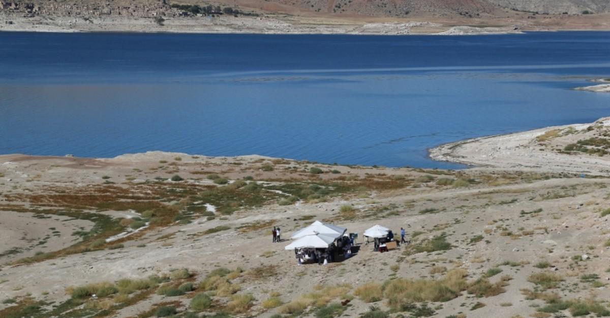 Excavation site near the Yamula Dam in Turkey's Kayseri province (Sabah File Photo)