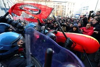 Over 100 protests held in Italy 1 week before elections