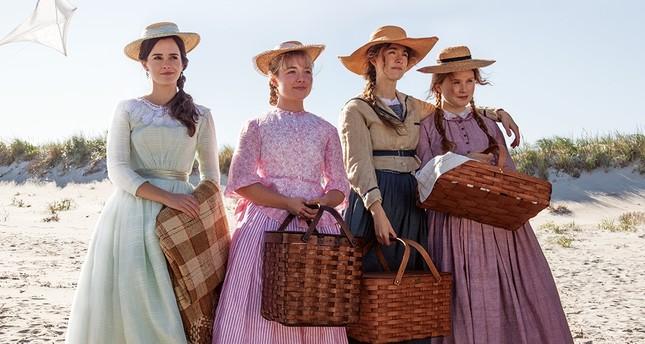 Emma Watson, Florence Pugh, Saoirse Ronan and Eliza Scanlen in Little Women.
