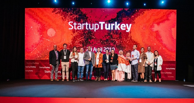 Four of the most successful startups were awarded at Startup Turkey, which saw around 130,000 entrepreneurs from around the world applying this year.