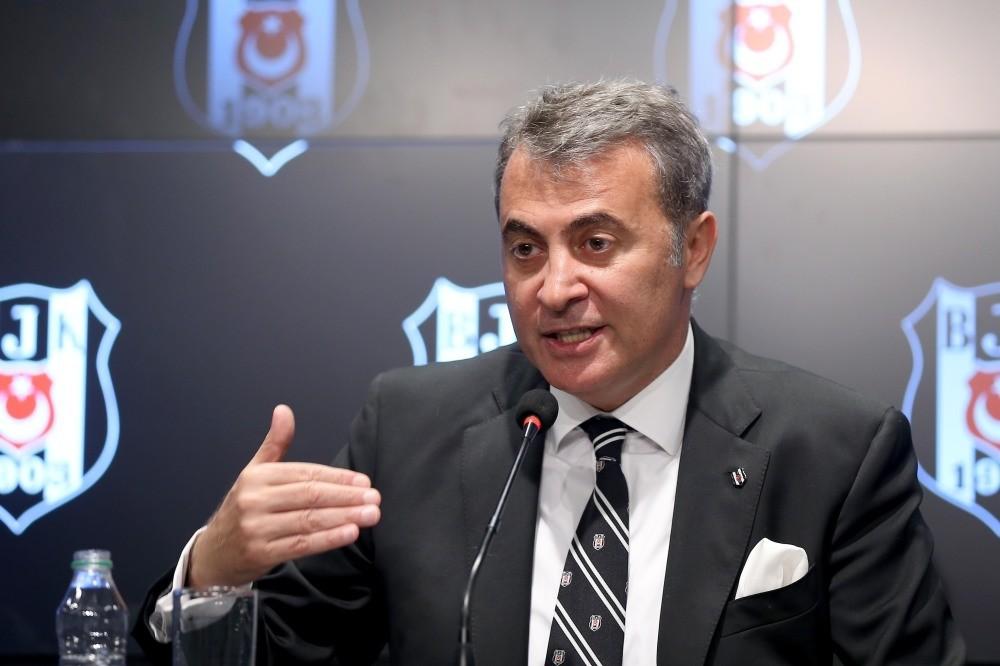 Beu015fiktau015f President Fikret Orman
