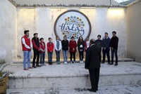 The Refugee Children's Choir consists of 15 Syrian refugee children taking shelter in the southern province of Hatay in collaboration with the Hatay Metropolitan Municipality and the Syrian Culture...