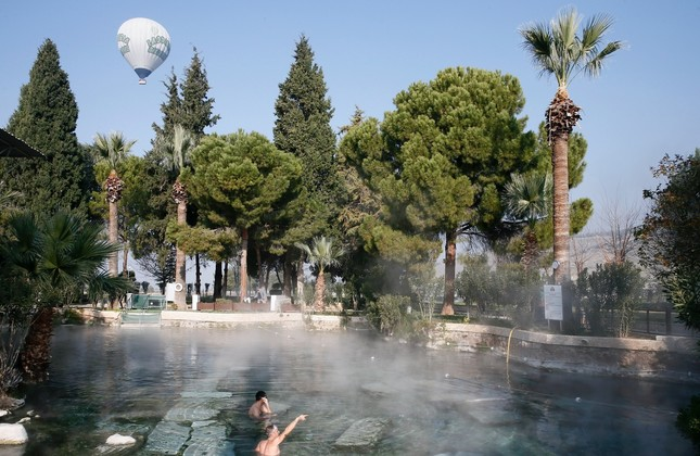 Ancient waters: Pamukkale with a touch of history