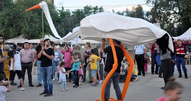 """""""مهرجان اللقلق الدولي"""" يختتم فعالياته في """"بورصة"""" التركية"""