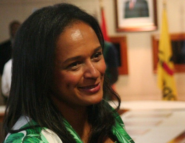 Africa's richest woman edges toward power in Angola