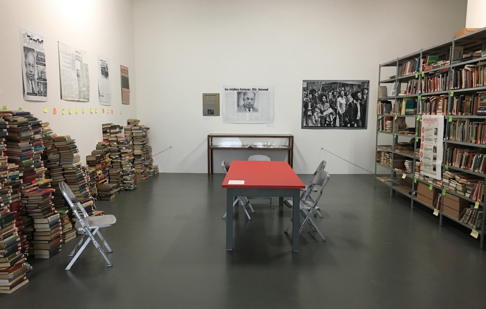 ,Black archives, is a room full of books and several publications that are part of the u201cCinema Olanda: Platform.u201d The Black Archive produces an alternative, independent history from the perspective of the black community in the country.