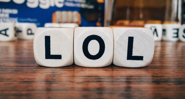 LOL, one of the most used abbreviation, is short for laughing out loud.