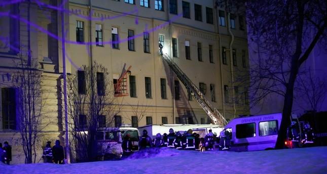 В университете в Петербурге обрушились перекрытия