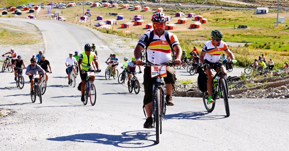 The participating cyclists will lodge at Mount Erciyes' Tekir Kapu0131 regions' camp area, which is located at an altitude of 2,200 meters.