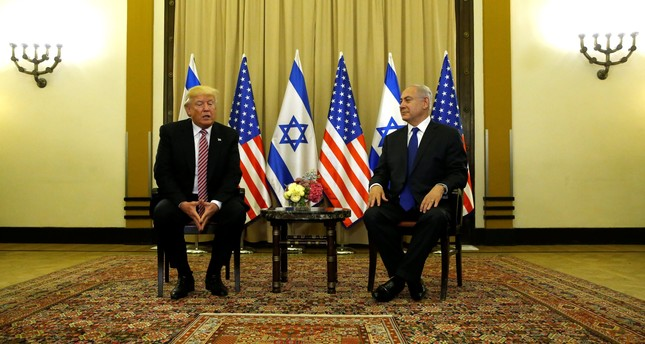 Trump says never mentioned Israel to Russians