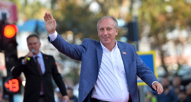 Muharrem İnce strengthened his bid for chairmanship in the June 24 presidential and parliamentary elections after he received 8 percentage more points than the CHP itself.