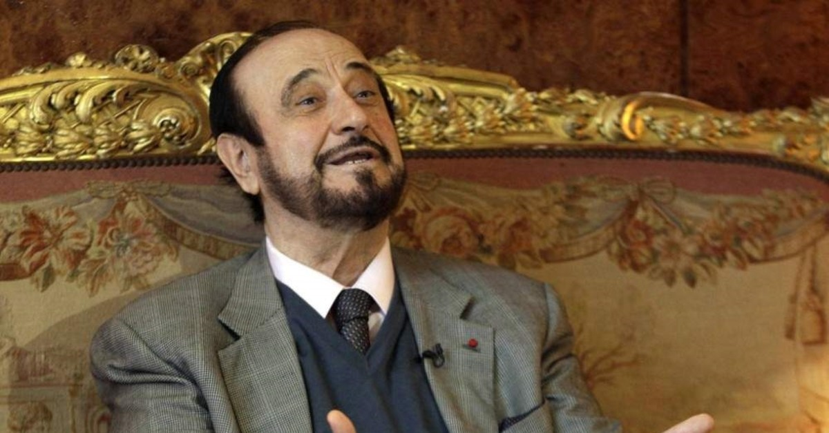 FILE PHOTO: Rifaat al-Assad in Paris in 2011. (AP Photo)